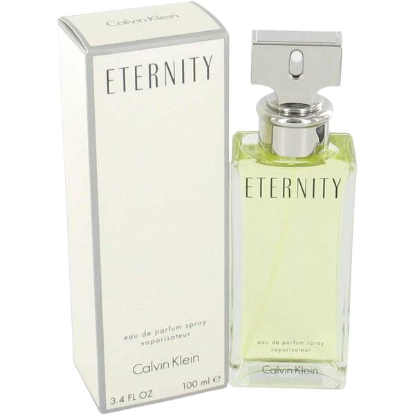 Eternity Perfume by Calvin Klein, 3.4 oz Eau De Parfum Spray for women