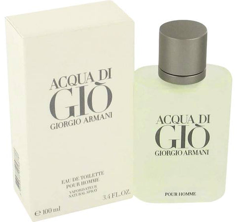 Acqua Di Gio Cologne By  GIORGIO ARMANI  FOR MEN 3.3 oz Eau De Toilette Spray