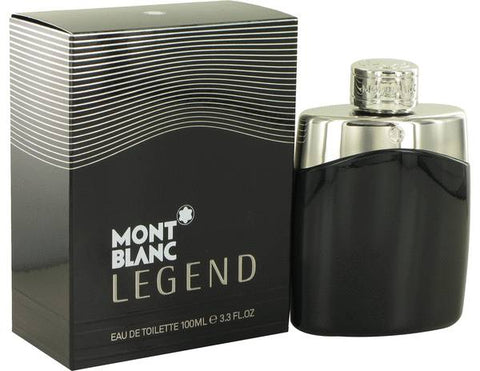Montblanc Legend Cologne by Mont Blanc, 3.4 oz Eau De Toilette Spray for Men
