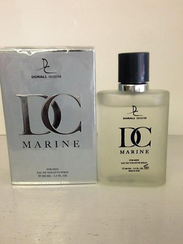 Dorall Collection DC Marine Cologne  for men 3.3 OZ Eau de Toilette Spray