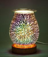 3D Fire Works Touch Aromatic Oil Burner