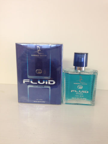 Dorall Collection Fluid Intense Cologne 3.3 oz (100 ml ) for Men, Eau De Toilette Spray