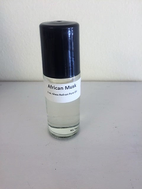 African Musk Perfume Body Oil Roll On 1 oz