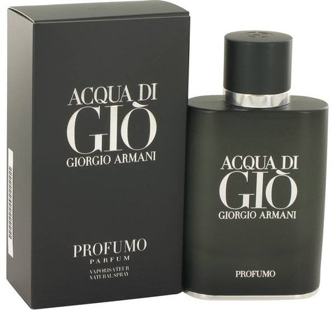 Acqua Di Gio Profumo Cologne By GIORGIO ARMANI 2.5 oz Eau De Parfum Spray for Men