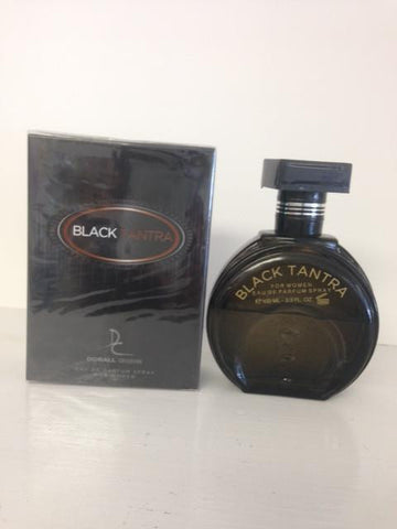 Dorall Collection Black Tantra Perfume for Women  Eau de Parfum Spray 3.3 OZ (100 ml)