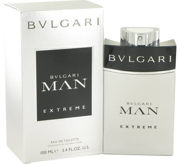 Bvlgari Man Extreme By BVLGARI 3.4oz Eau De Toilette Spray for Men