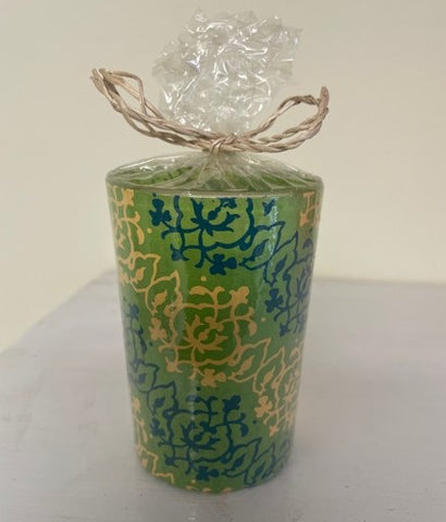 Maroma Green Light Jasmine Candle 100% eco-friendly with Jasmine Absolute Essential Oils Bergamot and Ylang Ylang 95 g