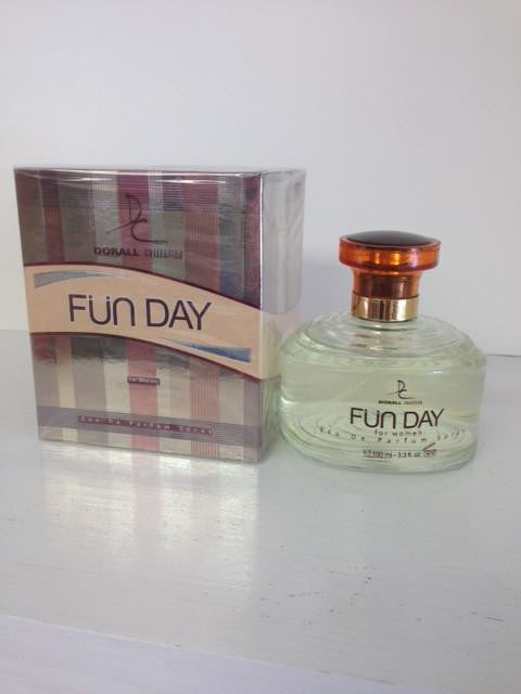 Dorall Collection Fun Day Perfume for Women  Eau de Parfum Spray 3.3 OZ (100 ml)