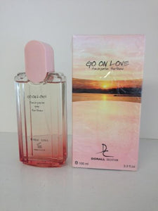 Dorall Collection Go On Love Perfume for Women  Eau de Parfum Spray 3.3 OZ (100 ml)