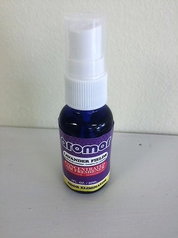Aromar  Lavender Fields Concentrated Air Freshener Odor Eliminator 1 oz bottle