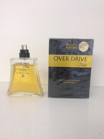 Creation Lamis Over Drive Noir Perfume for Women  Eau de Parfum Spray 3.3 OZ (100 ml)