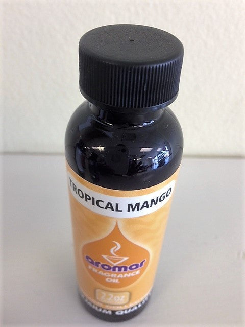 Aromar Aromatherapy Essential Aromatic Burning oil Tropical Mango Spa Collection 2.2 oz bottle