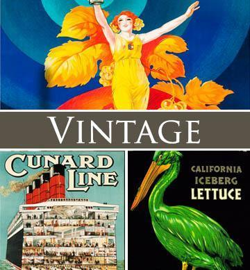 vintage posters wooden jigsaw puzzles