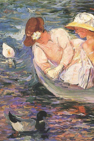 Summertime by Mary Cassatt - Wooden Jigsaw Puzzles for Adults