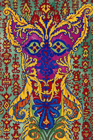 Cat Pattern by Louis Wain - Wooden Jigsaw Puzzles for Adults
