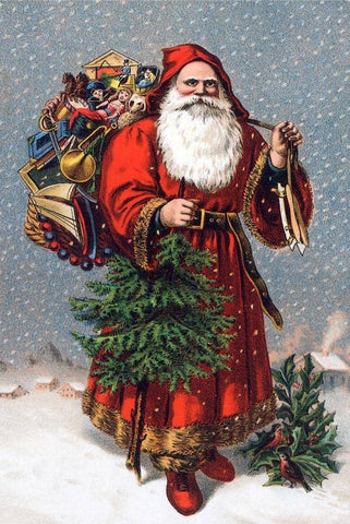 Victorian St. Nicholas - Wooden Jigsaw Puzzles for Adults