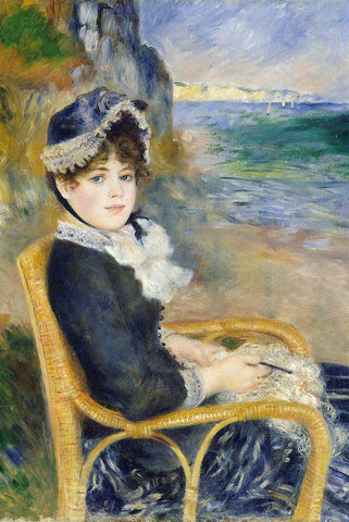 By the Seashore by Renoir Peaceful Wooden Puzzles