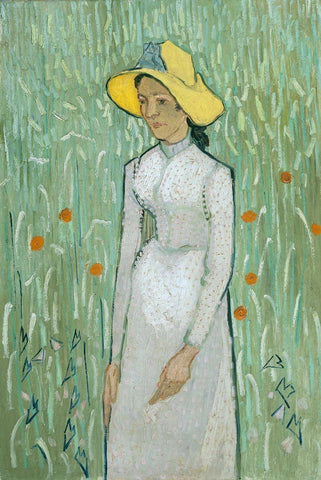 Girl in White by Van Gogh - Wooden Jigsaw Puzzles for Adults