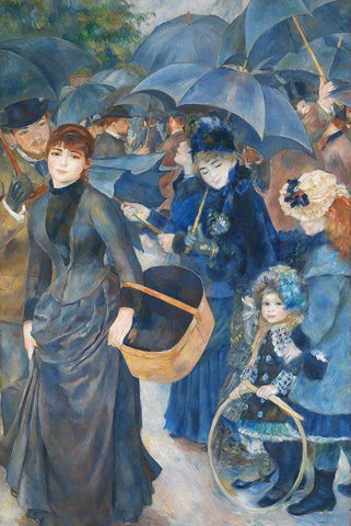 The Umbrellas by Renoir Peaceful Wooden Puzzles