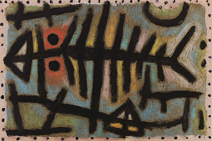 Schlamm-Assel-Fisch by Paul Klee - Wooden Jigsaw Puzzles for Adults