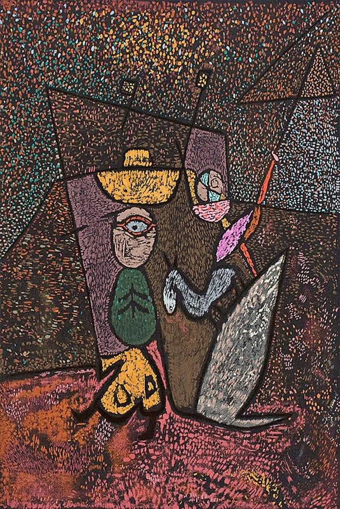 Traveling Circus by Paul Klee - Wooden Jigsaw Puzzles for Adults