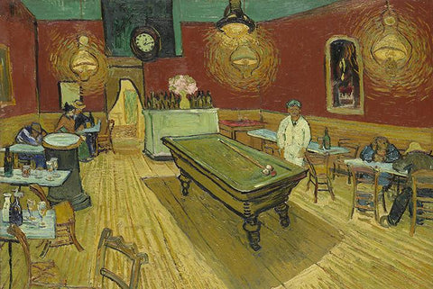 Night Café by Van Gogh - Peaceful Wooden Puzzles