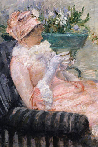 The Cup of Tea by Mary Cassatt