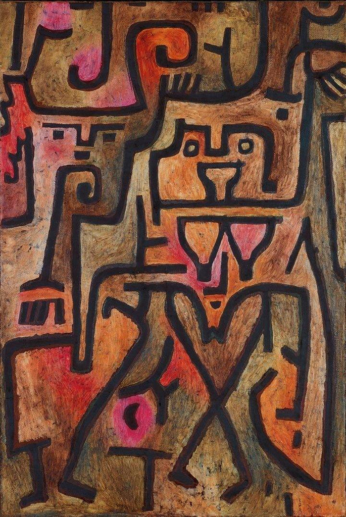 Forest Witches by Paul Klee - Wooden Jigsaw Puzzles for Adults