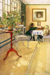 The Chess Game by Carl Larsson - Wooden Jigsaw Puzzles for Adults