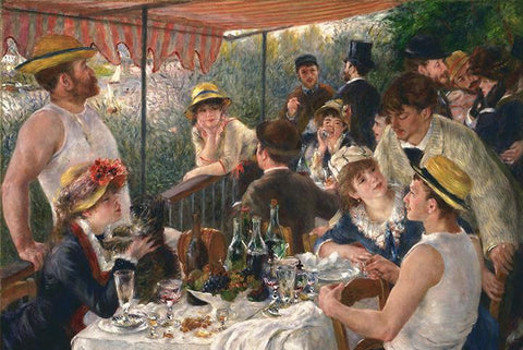 Luncheon at the Boating Party by Renoir - Wooden Jigsaw Puzzles for Adults
