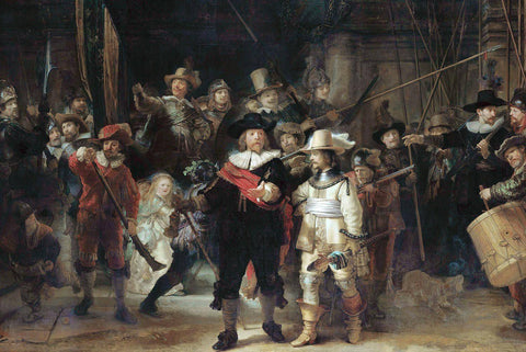 The Nightwatch by Rembrandt - Wooden Jigsaw Puzzles for Adults