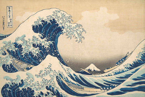 The Great Wave by Katsushika Hokusai - Wooden Jigsaw Puzzles for Adults