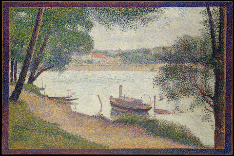 Gray Weather by Georges-Pierre Seurat - Wooden Jigsaw Puzzles for Adults