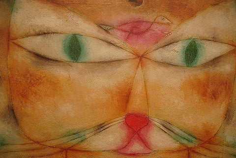 Cat and Bird by Paul Klee - Wooden Jigsaw Puzzles for Adults