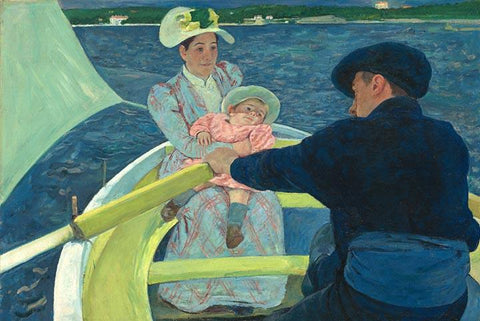 The Boating Party by Mary Cassatt - Wooden Jigsaw Puzzles for Adults