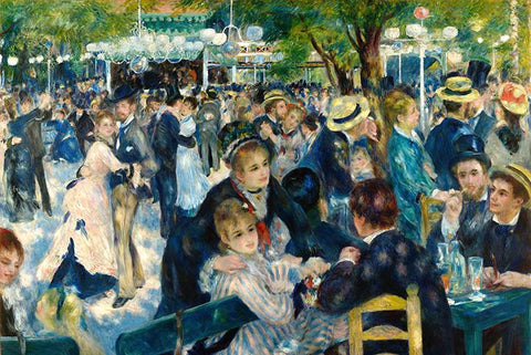 Ball at the Moulin de la Galette by Renoir - Peaceful Wooden Jigsaw Puzzles