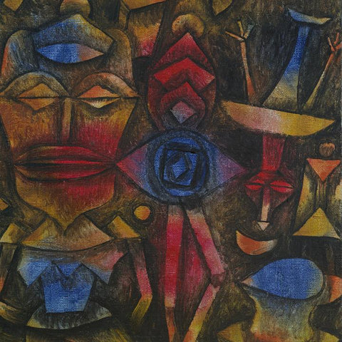 Collection of Figurines by Paul Klee - Wooden Jigsaw Puzzles for Adults