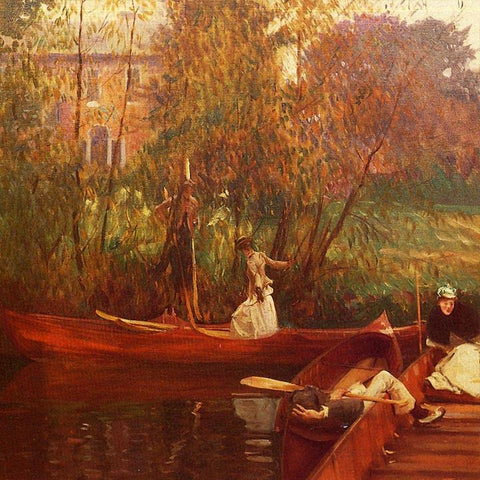 The Boating Party by John Signer Sargent - Peaceful Wooden Puzzles