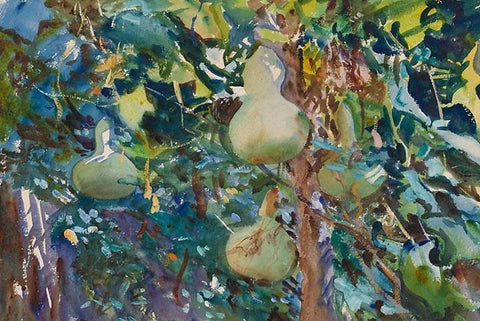 Gourds by John Singer Sargent - Wooden Jigsaw Puzzles for Adults