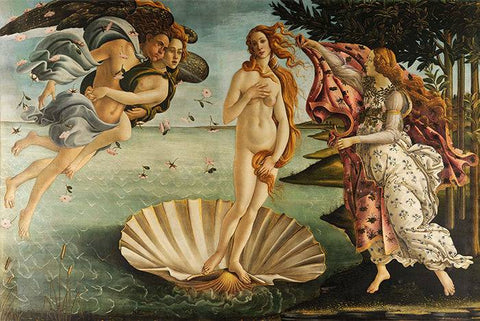 The Birth of Venus by Sandro Botticelli - Wooden Jigsaw Puzzles for Adults