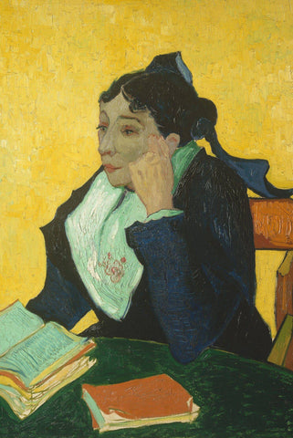 L'Arlésienne: Madame Joseph-Michel Ginoux by Van Gogh - Peaceful Wooden Puzzles