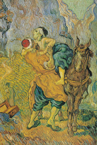 The Good Samaritan by Van Gogh - Peaceful Wooden Puzzles