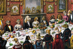 Dog Dinner Party by Wein - Wooden Jigsaw Puzzles for Adults
