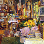 The Room of Flowers by Childe Hassam - Wooden Jigsaw Puzzles for Adults