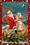 Santa Rocks! - Wooden Jigsaw Puzzles for Adults