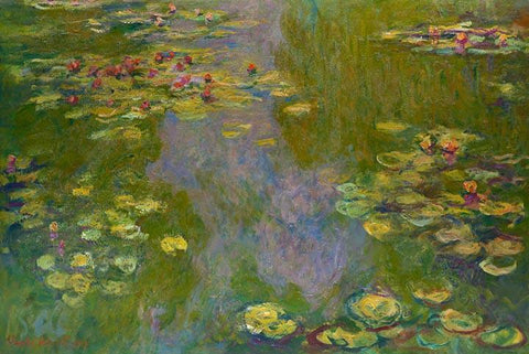 Waterlilies  by Monet - Wooden Jigsaw Puzzles for Adults