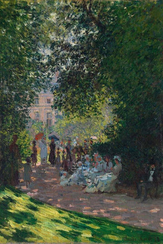 The Parc Monceau by Monet - Peaceful Wooden Jigsaw Puzzles