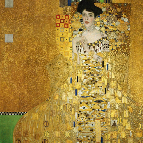 Portrait of Adele Bloch-Bauer by Gustav Klimt - Wooden Jigsaw Puzzles for Adults