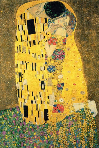 The Kiss by Gustav Klimt - Wooden Jigsaw Puzzles for Adults