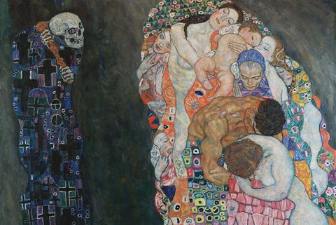 Life and Death by Gustav Klimt - Wooden Jigsaw Puzzles for Adults